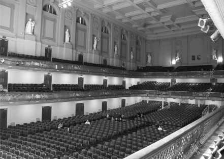 Die Boston Symphony Hall