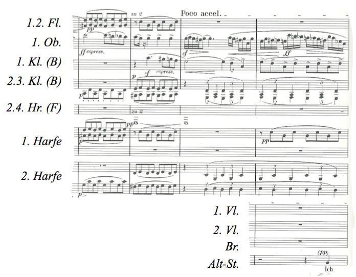 Notenbeispiel 5 und 6: Takt 39-46